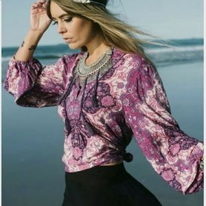 Vintage Spell & the Gypsy Kiss the Sky Blouse